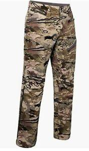 UNDER ARMOUR UA GRIT HUNTING PANTS BARREN CAMO 1347443-999 MEN'S SZ: