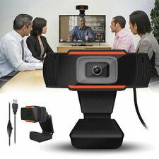 Hd Webcam Usb Computer Web Camera Video Cam W/ Microphone For Pc Laptop Desktop