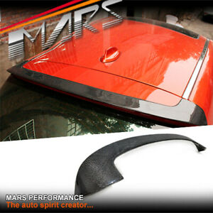 Performance Carbon Fibre Rear Roof Spoiler Lip Wing for BMW 1 Series F20 Bodykit