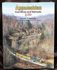 MORNING SUN BOOKS - APPALACHIAN COAL MINES & RR In Color Vol. 1 - HC 128 Pages