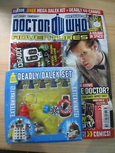 Doctor Who Adventures Magazine ISSUE # 257 FEB 2012 FREE DEADLY DALEK SET