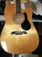 Alvarez AD-60CE clean used piece, free freight and extras/ project