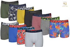 Superdry Men's Long Organic Cotton Boxer Size Small - Pack of 2, 3, 4 & 5
