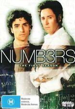 Numbers Numb3rs Season 1 DVD New Sealed Australia Region 4