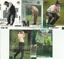 13 PAYUL ZINGER GOLF CARD LOT UD SPA 2002