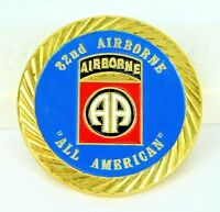 U.S. Army 82nd Airborne All American Division Challenge Coin