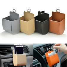 Car Seat Back Tidy Storage Coin Bag Organizer Holder Pounch Box For phone @E