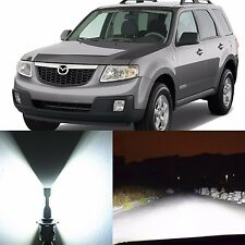 Alla Lighting Headlight 9003 White LED Conversion Kits for 2001~06 Mazda Tribute