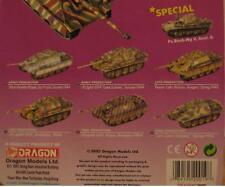 Can.Do Dragon 1/144 WWII German Infantry Jagdpanther Battle Tank Set 6 Models