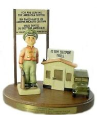 "hummel #cc332 ""checkpoint charlie"" military set 6"" $400 mint!"