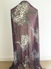 VINTAGE années 70 style psychédélique spot design sur mousseline couture tissu