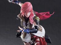 Dissidia Final Fantasy Lightning Play Arts Kai Official Merchandise New Sealed