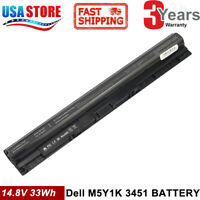 Replace M5Y1K K185W 40WH Battery for DELL Inspiron 3451 3458 5551 5555 5558