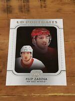 2019-20 Series 1 - Filip Zadina - Rookie - UD Portraits - Red Wings - #P-41 (RC)