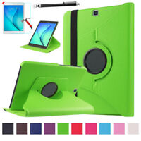 Leather Stand Case Wake/Sleep Cover For Samsung Galaxy Tab A 9.7 T550 T551 T555