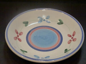 "CALECA PINK GARLAND 8 3/8"" Soup Bowl, FREE SHIPPING, CH10130"