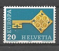 EUROPA 1968 Suisse - Switzerland neuf ** 1er choix