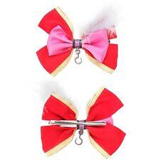 Disney Peter Pan Captain Hook Cosplay Hair Bow Pin Clip Costume Dress Up NWT