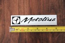 Metolius Rock Climbing Sticker Decal White New