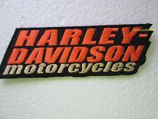 HARLEY DAVIDSON STACKED VEST PATCH - (SMALL) OBSOLETE DESIGN