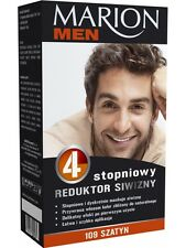 18,32EUR/100ml MARION MEN HERREN Anti Grau Haartönung Kur 4x15 ml 109 Braun