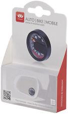 HR 10110001 KFZ Auto Innen Thermometer - selbstklebend - Ø 44 x 13 mm - schwarz