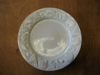 "Pfaltzgraff Everyday LIDO BEACH Dinner Plate 10 7/8"" OFF WHITE     7 available"