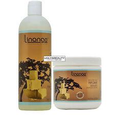 Linange Neutralizing Conditioner + Shea Butter Relaxer 16 fl. oz. Set