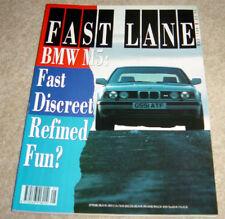 Fast Lane 1990 - BMW M5 - VFR 750 - Mazda MX-5 - Celica GT - Mercedes 500 SL