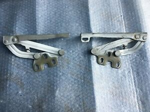 OPEL CORSA D  FRONT LEFT RIGHT BONNET HOOD HINGES 13186924 13186923