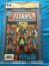 Tales of the Teen Titans #44 - DC - CGC SS 9.4 NM - Signed by George Perez