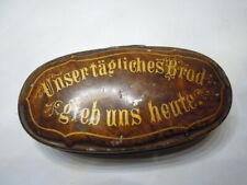 Nachlass:  alte schöne Brotdose verm.Märklin ? um 1900