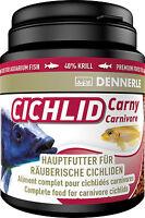 Dennerle Premium Fish Food: Cichlid Carny 200ml for Carnivorous Cichlids