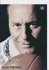 Huub Stevens  Hamburger SV 2007/08 Autogrammkarte original signiert 385771