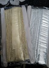 GOLD OR SLIVER 14 yards Metallic piping/Cord/Lace/Trim/Dori with shine