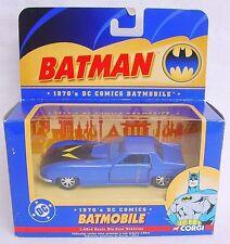"Corgi Classics 1:43 BATMAN 1970's DC COMICS BATMOBILE BLUE ""BMBV1"" #77315 MIB!"