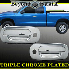 1997-2004 DODGE DAKOTA 2dr W/PSK Chrome Door Handle Covers