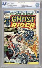 Ghost Rider #3 CBCS 8.5-Mr Magik Woo Copy-cont'd fr Marvel Spotlight 12-like cgc