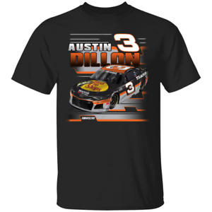 Checkered Flag Austin Dillon Men's Black Bass 2020 Black T-Shirt S-5XL