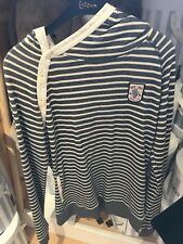 Bargain Designer Scotch R'Belle Striped Ship Ahoy Hoodie Age 14 Rrp £52.99 Bnwt