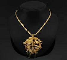 Very Rare Lapponia 18K Gold Necklace by Björn Weckström Finland - A566