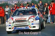 Didier AURIOL TOYOTA COROLLA WRC Monte Carlo Rally 1999 Fotografia