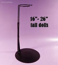"1 DOLL STAND Kaiser #3075 BLACK.Fits 16""- 26"" tall M.ALEXANDER, TODDLERS by Corr"