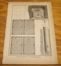 1792 Magic Print/BILLIARDS//WATER WELL//COOKING A GOOSE