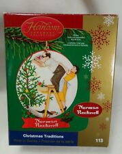 CARLTON Cards Christmas Traditions Norman Rockwell