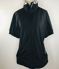Sunice Sport X20ct Full Zip Short Sleeve Black Jacket Womens XL
