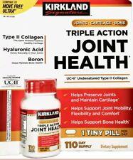Kirkland Triple Action 110 Tablets Joint Health Cartilage Bone Support 💥 OD 💥