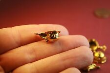40 Gold Cup Charms Teacup Coffee Cup 19 x 8 mm Antique Gold Tone Metal -  034