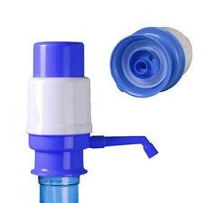 5 & 6 Gallon Manual Water Bottle Jug Hand Pump Dispenser Camping Drinking Spigot