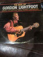 The Best of Gordon Lightfoot Vintage Vinyl Record UAS 6754 Stereo Vinyl LP